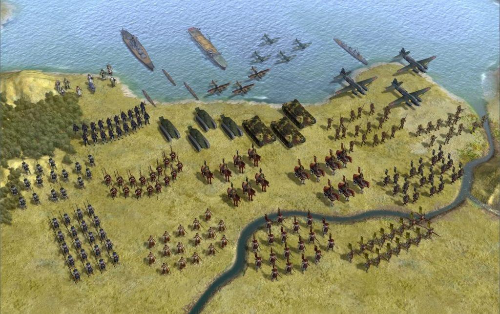 "Sid Meier's Civilization 5 ""R.E.D. Modpack - финальная версия"""