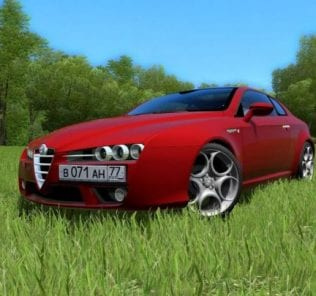 Мод Alfa Romeo Brera для Сити Кар Драйвинг v.1.5.0 - 1.5.6