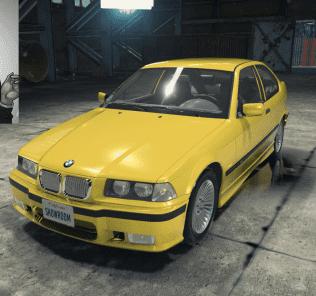 Мод BMW 323ti  для Кар Механик Симулятор 2018