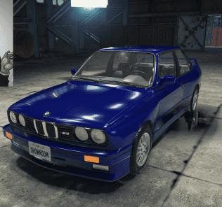 Мод BMW M3 E30 для Кар Механик Симулятор 2018