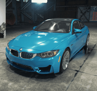 Мод BMW M4 F82 для Кар Механик Симулятор 2018