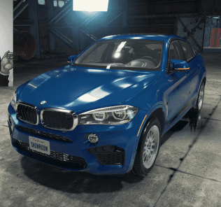 Мод BMW X6M для Кар Механик Симулятор 2018