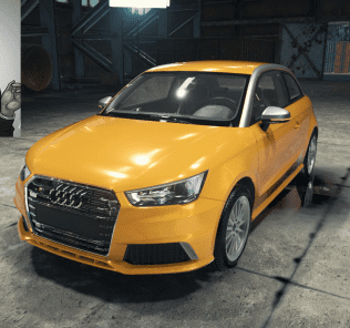 Мод Audi S1 для Кар Механик Симулятор 2018