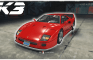 Мод Ferrari F40 (1987) для Кар Механик Симулятор 2018