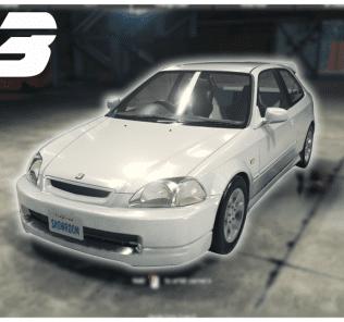 Мод Honda Civic Type-R (1997) для Кар Механик Симулятор 2018