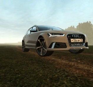 Мод Audi Rs 6 Avant Stage 1 для Сити Кар Драйвинг v.1.5.0 - 1.5.6