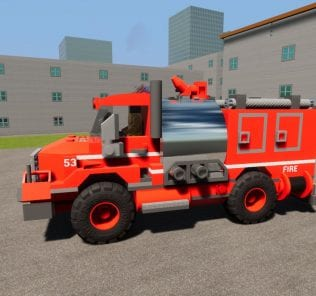 Мод Fire Dept. Brush Truck 53 для Бриг Ригс