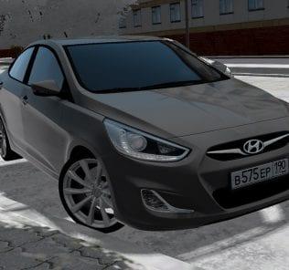 Мод Hyundai Solaris для Сити Кар Драйвинг v.1.5.0 - 1.5.6