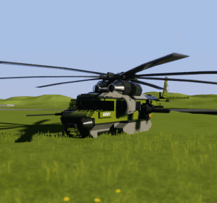 Мод Army Helicopter для Бриг Ригс