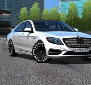Мод Диски Для Mecedes-Benz S Class для Сити Кар Драйвинг v.1.5.1 - 1.5.6