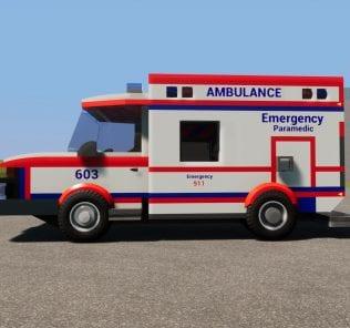Мод FIRE & EMS Ambulance 603 для Бриг Ригс
