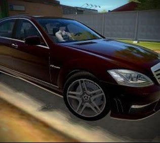 Мод Mercedes Benz S65 Amg для Сити Кар Драйвинг v.1.5.2- 1.5.6