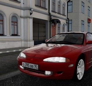 Мод Mitsubishi Eclipse для Сити Кар Драйвинг v.1.5.6