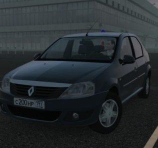 Мод Renault Logan для Сити Кар Драйвинг v.1.5.1 - 1.5.6