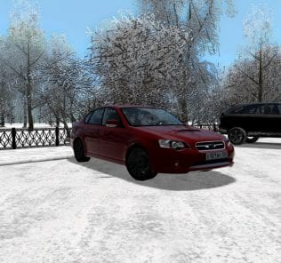 Мод Subaru Legacy B4 2.0 Gt 2005 для Сити Кар Драйвинг v.1.5.0 - 1.5.6