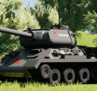 Мод T-34/85 для Бриг Ригс