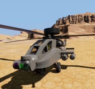 Мод AH-64 Apache Longbow для Бриг Ригс