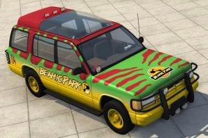 Мод Beamic Park Gavril Roamer Tour Car 1.1 для BeamNG Drive