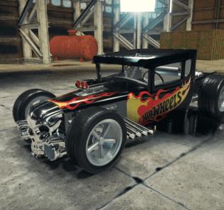 Мод Hot Wheels Boneshaker для Кар Механик Симулятор 2018