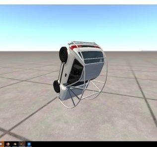Мод Ibishu Microvet 1.2 для BeamNG Drive
