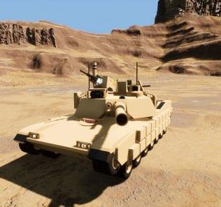 Мод M1A2 Abrams SEP 2 для Бриг Ригс