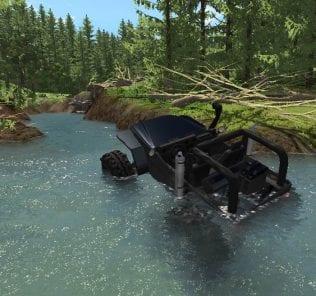 Мод Modgods Hirochi Floodway 1.0 для BeamNG Drive