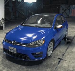 Мод Volkswagen Golf R для Кар Механик Симулятор 2018