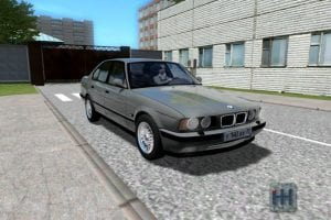 Мод BMW M5 E34 для Сити Кар Драйвинг v.1.5.7
