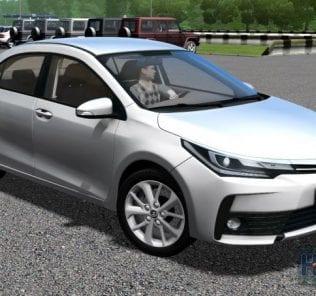 Мод Toyota Corolla E190 2017 для Сити Кар Драйвинг v.1.5.7