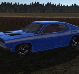 Playmouth Dustman 1970 для My Summer Car