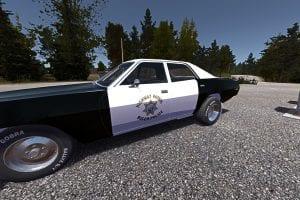 Полицейский маслкар (текстуры) для My Summer Car