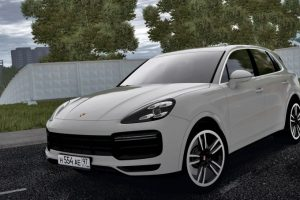 Мод 2019 Porsche Cayenne Turbo для Сити Кар Драйвинг v.1.5.7