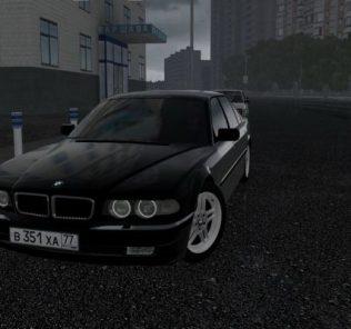 Мод BMW 750iL (E38) для Сити Кар Драйвинг v.1.5.7