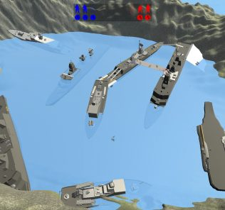 Мод BattleShip Row для Равенфилд