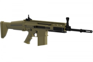 Мод [DEV STOPPED] SCAR H (scoped variant) для Равенфилд