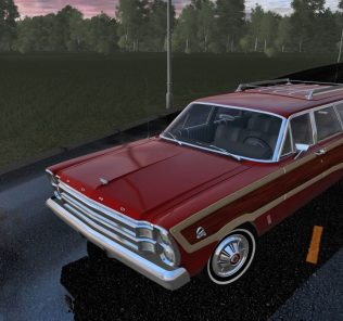 Мод Ford Country Squire для Сити Кар Драйвинг v.1.5.1 - 1.5.6