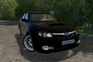 Мод Subaru Impreza WRX STI 2008 для Сити Кар Драйвинг v.1.5.7