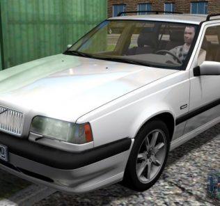 Мод Volvo 850 Estate 1997 для Сити Кар Драйвинг v.1.5.7