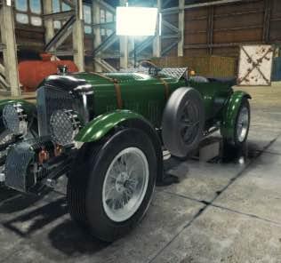 "Мод 1927 Bentley 4 1/2 litre ""Blower"" для Кар Механик Симулятор 2018"