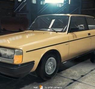 Мод 1984 Volvo 242 для Кар Механик Симулятор 2018