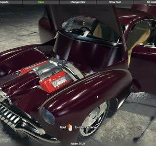 Мод Holden EFIJY Concept для Кар Механик Симулятор 2018