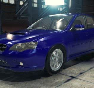 Мод Subaru Legacy B4 2.0GT для Кар Механик Симулятор 2018