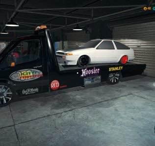 Мод Tow truck для Кар Механик Симулятор 2018