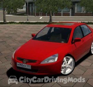 Мод 2004 Honda Accord V6 для Сити Кар Драйвинг v.1.5.6