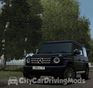 Мод 2019 Mercedes-Benz G500 для Сити Кар Драйвинг v.1.5.6
