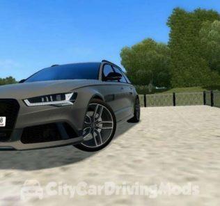 Мод Audi RS6 C7 для Сити Кар Драйвинг v.1.5.7