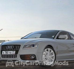 Мод Audi S5 для Сити Кар Драйвинг v.1.5.5