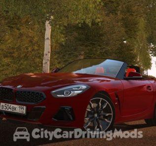 Мод BMW Z4 M40i (G29) 2019 для Сити Кар Драйвинг v.1.5.8