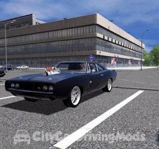 Мод Dodge Charger RT Fast & Furious Edition 1970 для Сити Кар Драйвинг v.1.5.5