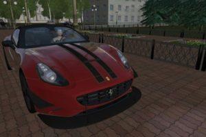 Мод Ferrari California Tuning для Сити Кар Драйвинг v.1.5.9